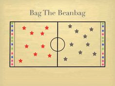 Physical Education Games - Bag The Beanbag... sounds interesting... however I would have the student that is tagged do something else, besides sit down...