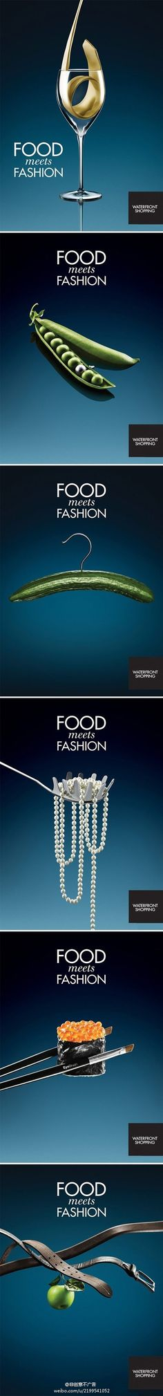 When food meets fashion...