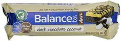Balance Bar Dark Chocolate Coconut Bar, 15 count, 1.58 OZ BALANCE Bar http://www.amazon.com/dp/B00C7DIHUI/ref=cm_sw_r_pi_dp_o5boub0ETMMZ4