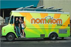 Eat from food trucks in major cities