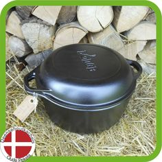 Lodge Double Dutch oven €89,00