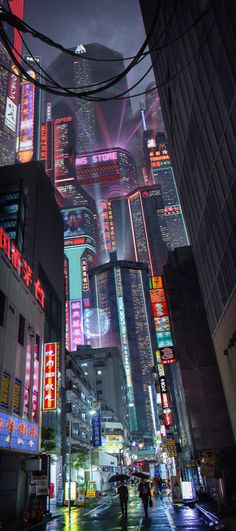 Experience these incredible visions of a cyberpunk future, brought to us by some of featured artists. Cyberpunk City, Ville Cyberpunk, Cyberpunk Kunst, Cyberpunk Aesthetic, Futuristic City, Futuristic Architecture, Cyberpunk 2077, Cyberpunk Fashion, Cyberpunk Tattoo