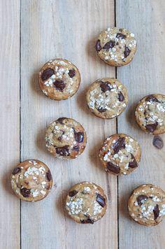 Banana Oat Chocolate Muffins