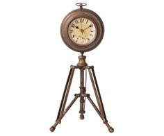 Standuhr Golatas 22x36 cm Braun Antik Optik