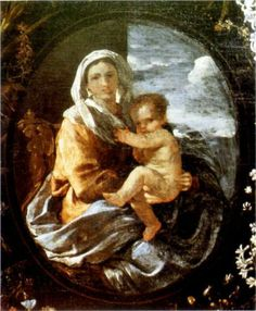 Virgin and Child - Nicolas Poussin