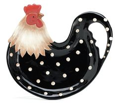 Rooster Platter...could go with the dishes that I just repinned.