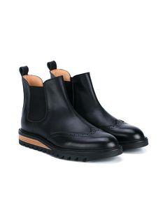 HENDER SCHEME Brique Leather Chelsea Boots