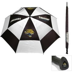 "Team Golf Jacksonville Jaguars 62"" Double Canopy Umbrella - Dick's Sporting Goods"