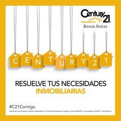Resuelve tus necesidades inmobiliarias, ¡Confía en los expertos! contáctanos al (55) 5251 6700 o visítanos en www.century21mexico.com #C21Contigo #CENTURY21MÉXICO #BienesRaíces
