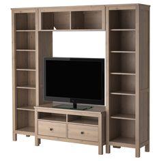 HEMNES Combinaison meuble TV - IKEA