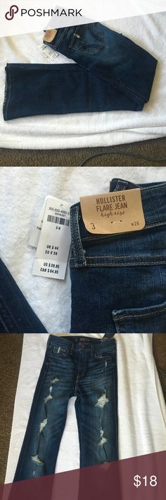 Hollister flare jeans NEW. SIZE 3. Hollister Jeans Flare & Wide Leg
