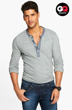 Todd Snyder Classic Henley #Nordstrom #GQSelects