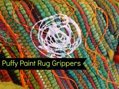 Puffy Paint Rug Grippers - Crafty Chica™