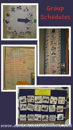 Visual Schedule Series: 5 Reasons to Use Group Schedules by Autism Classroom News: http://www.autismclassroomnews.com