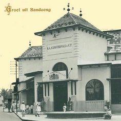 Bragaweg te Bandoeng. 1936