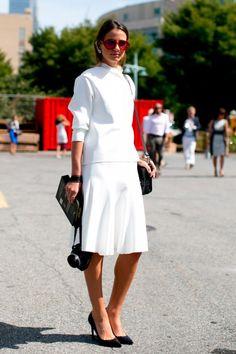 Street Style At New York Fashion Week SS14 - Fashion Week Street Style