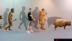 3D Paintings Special Exhibition in China  3D Paint Ideas