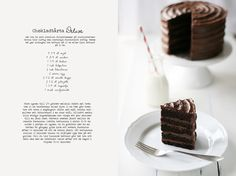 Choclate cake deluxe.  If you go to the link you can see the recipe in English