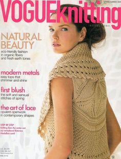 VOGUE knitting spring summer 2009 Trié örgü Dergisi