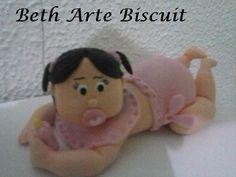 topo bebe em biscuit