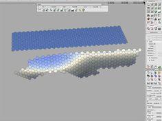 Tutorial link: Alias Modeling – Hexagon Tile Pattern