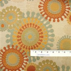 """Beach Gleam - Spice  Upholstery Fabric by Cone Decorative Repeat: 13.5"""" x 18.0""""; 28% polyester, 18% cotton, 54% rayon. 54""""wide.                        Beach Gleam Spice - Upholstery fabric by Cone Decorative - sirsfabric.com 54"""" wide $23.99 a yard"""
