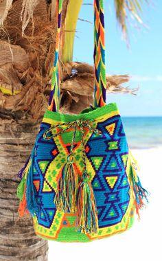 Wayuu Miroa Mochila Bag