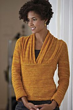 Ginevra Pullover from Interweave Knits Winter 2010- now that's something i aspire to making!