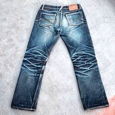Old Blue Co. Denim #rawdenim #selvedgedenim ⓀⒾⓃⒼⓈⓉⓊⒹⒾⓄⓌⓄⓇⓀⓈ