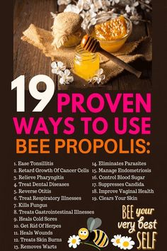 From Pharyngitis to Cold Sores: 19 Proven Ways To Use Bee Propolis via DailyHealthPost Propolis Benefits, Bee Propolis, Autogenic Training, Bee Facts, Bee Pollen, Cold Sore, Forever Living Products, Natural Health Remedies, Save The Bees