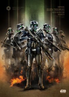 Star Wars Death Troopers metal poster - PosterPlate posters made out of metal