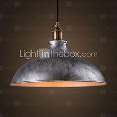 High Quality Iron Reminisced Pendant Lamp Loft Northern Europe American Vintage Retro Country Pendant Light 2017 - $60.44