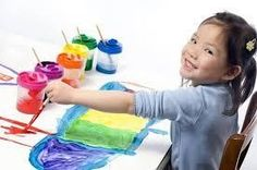 Play and Paint at KidsQuest Children's Museum Bellevue, WA #Kids #Events