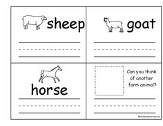Language Arts Lessons Nicole Delaney Kindergarten Christmas Worksheets Farm Animals Print Kindergarten Language Arts Worksheets Worksheet