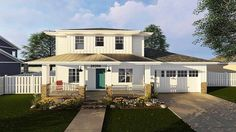 Northwest House Plan with Prairie Influences - 62569DJ | 2nd Floor Master Suite, CAD Available, Northwest, PDF, Prairie | Architectural Designs