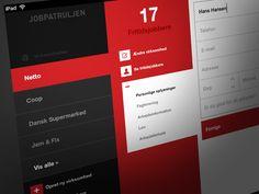 Dribbble - iPad App by Mads Egmose