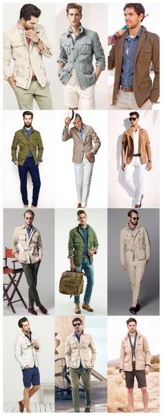 Men's Fashion - Style Inspiration: Modern Safari
