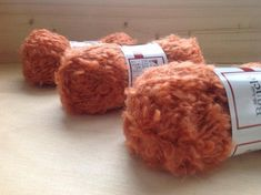 Your place to buy and sell all things handmade Boucle Yarn, Mohair Yarn, Crafts For Kids, Arts And Crafts, Doll Hair, Color Inspiration, Craft Supplies, Wool, Orange