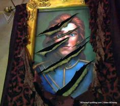 In Be Our Guest Restaurant's West Wing, watch as the portrait of the Prince transforms into the Beast!