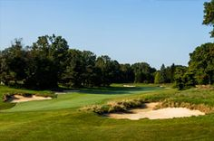 2013 US Open at Merion Golf Club's East Course Hole # 6.