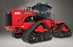 Versatile has launched a new tracked tractor, the Delta Track. New Tractor, Utility Tractor, Big Tractors, Vintage Tractors, Cat Farm, Farm Humor, Caterpillar Equipment, Tractor Pulling, Crawler Tractor