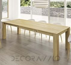 #wooden #wood #woodwork #furniture #eco #design #interior обеденный стол Domus Arte Bio Chic, DBS7B