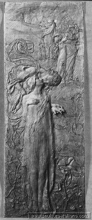 leonardo bistolfi | Leonardo Bistolfi Le spose della morte 1895