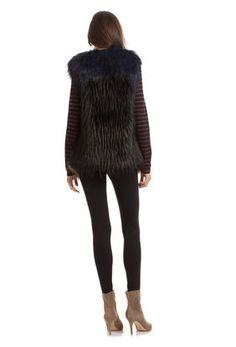 Tabitha Faux Fur Vest