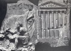 Wk 4. Sacrifice scene at Temple of Mars Ultor, from the Ara Pietatis Augustar, Rome, marble, ca. 43 CE.