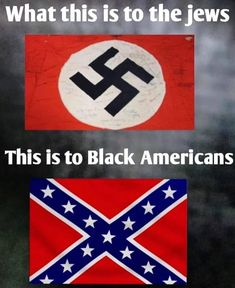 History lesson: traitors carrying a Confederate flag, shot Americans carrying the stars and stripes. #unamerican #racist #traitors Let That Sink In, Science Memes, Great Memes, Confederate Flag, Oui Oui, Black History, American History, How To Memorize Things, Art