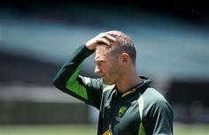 Australian Cricket Team Captain Michael Clarke in World Cup 2015 Wallpaper