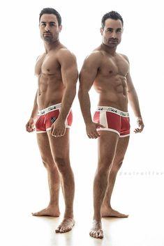8cb70adeefd Dino   Georgio TOWIE twins - Attitude Magazine Underwear Ad