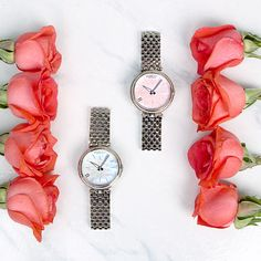 Forget the flowers and make it a month to remember with these Bedat & Co watches in blue or pink! #ExperienceLoveAtRustans #RustansGift #BedatandCo #fashion #style #watches