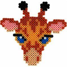 Giraffe Hama mini Bügelperlen